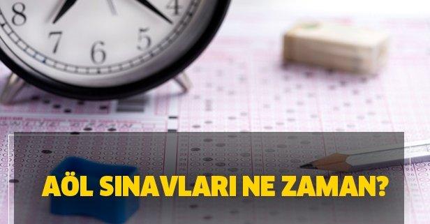 AÖL sınav yerleri ne zaman açıklanacak 2020? Açık öğretim lisesi sınavı ne zaman düzenlenecek?