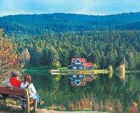 Kalabalıktan uzak doğayla iç içe