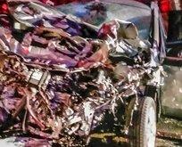 Burdur'da feci kaza: ABD'li 2 kişi öldü