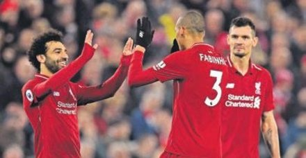 Liverpool, Premier Lig'de şampiyonluğa koşuyor
