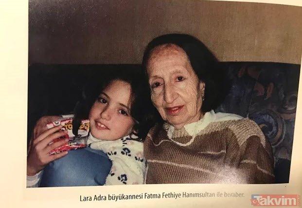 Hürrem Sultanın torunu Lara Adra Osmanoğlu güzelliği ile dikkat çekiyor (Osmanlı torunları kimler?)