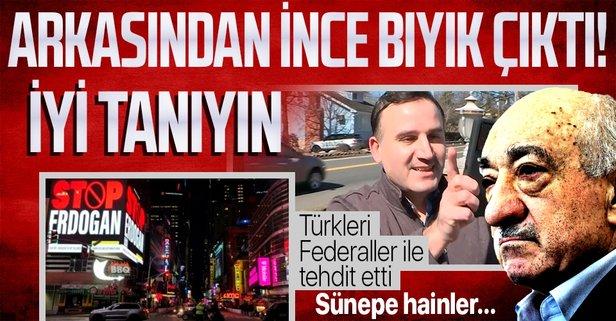 Stop Erdoğan skandalını FETÖ yapmış