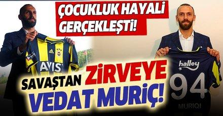 Fenerbahçe'nin yeni transferi Vedat Muriç'in hayatı film gibi! Savaştan zirveye...