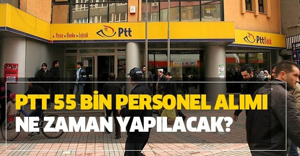 PTT 55 bin personel alımı şartları neler?