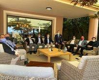 Mustafa Cengiz'e anlamlı ziyaret