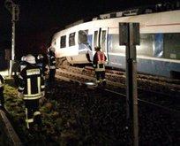 Almanya'da tren kazası: Onlarca yaralı var