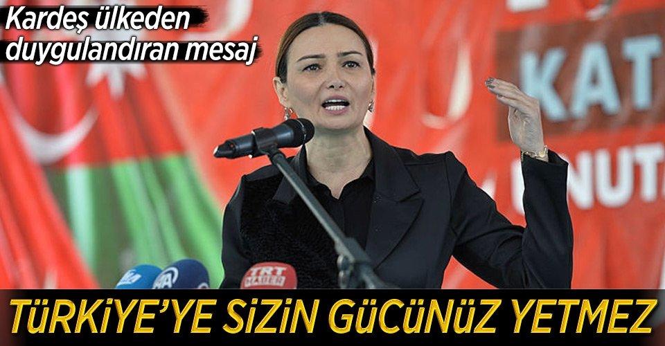 Türkiyeye sizin gücünüz yetmez