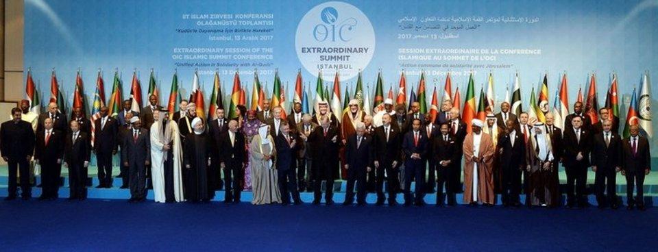 İslam İşbirliği Teşkilatı'na üye olan ülkeler