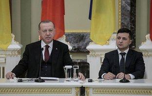 Başkan Erdoğan Vladimir Zelenskiy ile görüştü