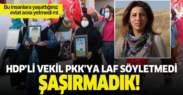 HDP'li vekil teröre tepki eylemini engellemek istedi!