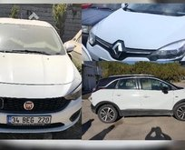 18 bin TL ve 25 bin TL fiyatlarla devlet kurumundan 2. el otomobil satış ihalesi!