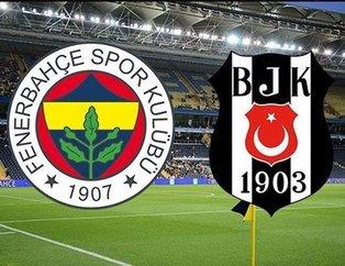 İşte Fenerbahçe-Beşiktaş derbisinin ilk 11'leri
