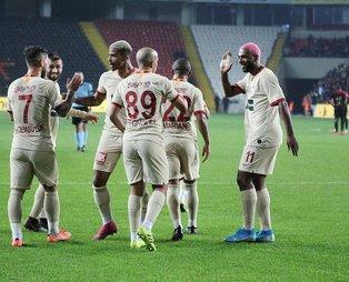 Aslan deplasmanda Antep'e kükredi! Gaziantep FK 0-2 Galatasaray (MAÇ SONUCU)