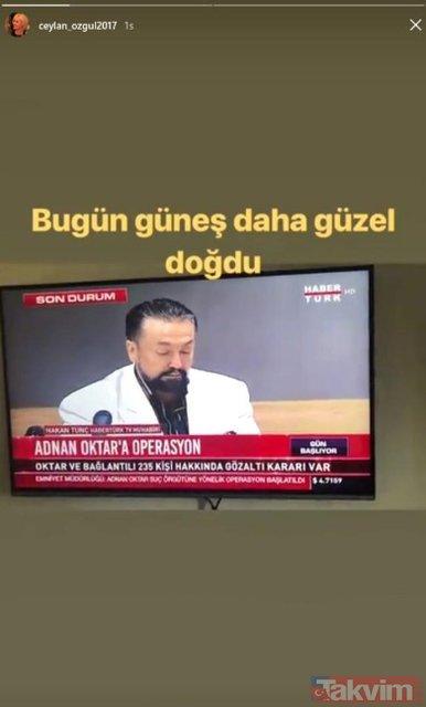 Ex kedicik Ceylan Özgül'den çok konuşulacak Adnan Oktar açıklaması