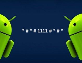 Android telefonlardaki gizli kodlar!