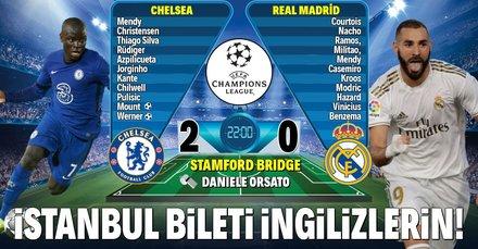 İstanbul bileti İngilizlerin!