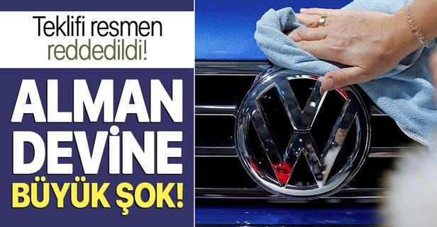 Volkswagen'e büyük şok!