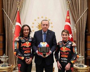 Şampiyondan Erdoğan'a hediye