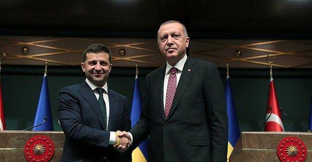 Erdoğan ile Zelenskiy telefonda görüştü