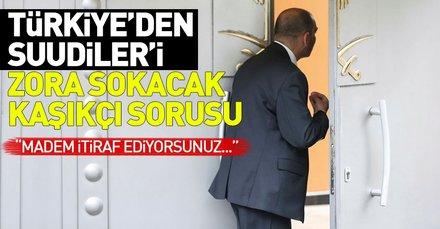 Son dakika: Çavuşoğlu açık açık sordu: Kaşıkçının cesedi nerede?