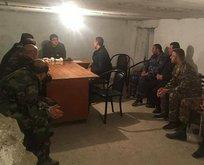 Ermenistan'ın SİHA korkusu! Sığınakta görüntülendiler...