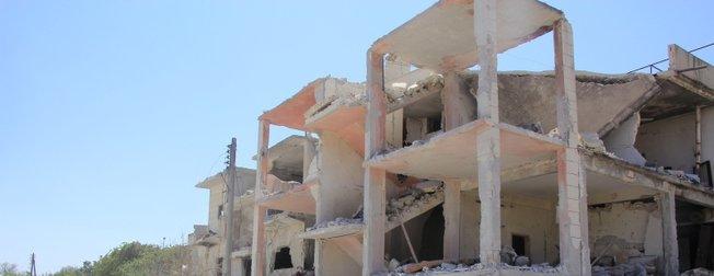 İşte Rusya'nın İdlib saldırısının görüntüleri