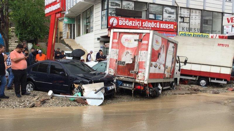 Ankarada sel baskını