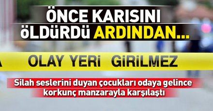 Ankarada inanılmaz olay! Önce karısını öldürdü sonra intihar etti