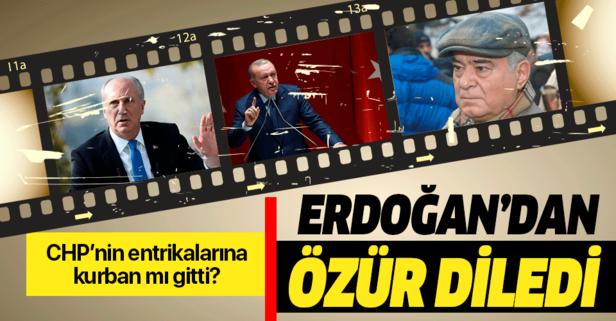 Rahmi Turan, Erdoğan'dan özür diledi