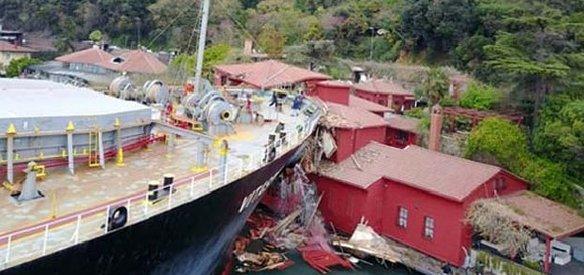 İstanbul Boğazı'nda Malta bandıralı gemi, Hekimbaşı Salih Efendi Yalısı'na çarptı. Yalıda büyük çapta hasar oluşurken, İstanbul Boğazı, çift yönlü gemi trafiğine kapatıldı