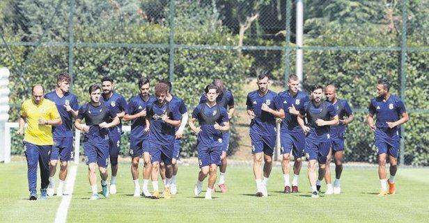 Fenerbahçe'de izin sona erdi