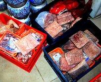 Mide bulandıran olay! Yüzlerce kilo bozuk eti...