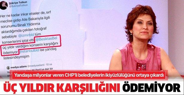 Beşiktaş Belediye konserlerin karşılığını ödemiyor