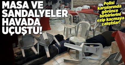 Ankarada kumar baskını! Kumarbazlar neye uğradığını şaşırdı