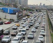 İstanbul'da tafik kilitlendi