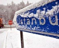 Meteoroloji tarih verdi! İstanbul'a kar geliyor!