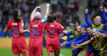 Kadınlar Dünya Kupası'ndan son dakika haberi! ABD'den tarihi galibiyet