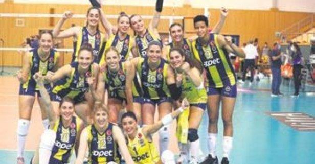 Fenerbahçe Opet Eczacı'yı devirdi: 3-2