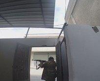 Cinderes'te teröristlerle sıcak çatışma anları görüntülendi