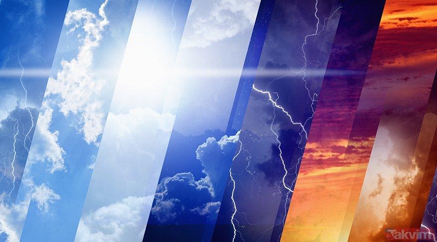 Meteoroloji'den son dakika hava durumu tahminleri! Bugün hava nasıl olacak? 25 Nisan 2019 hava durumu
