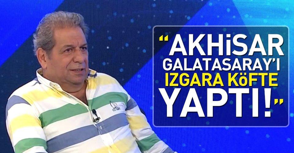 Akhisar Galatasarayı ızgara köfte yaptı