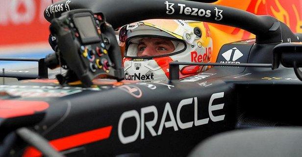 Fransa'da ilk cep Verstappen'in