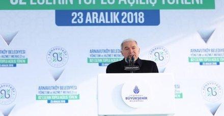 Mevlüt Uysal: Arnavutköy geleceğe umutla bakıyor!