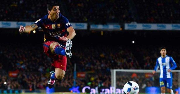 Luis Suarez Barcelona'ya veda etti