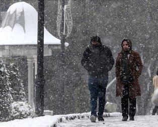 Meteoroloji'den İstanbul için kar yağışı uyarısı!