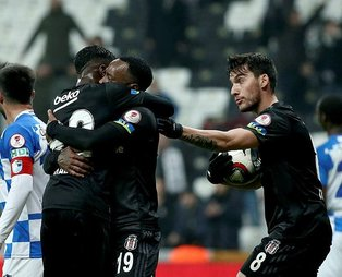 Kartal Türkiye Kupası'na veda etti! MAÇ SONUCU: Beşiktaş 2 - 3 Erzurumspor MAÇ ÖZETİ İZLE
