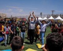 600 çocuk barış için uçurtma uçurdu!