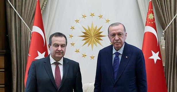 Başkan Erdoğan'dan kritik kabul