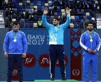 Osman Yıldırımdan altın madalya
