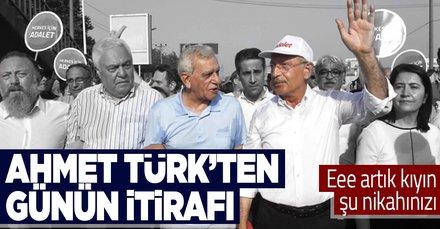 SON DAKİKA: HDP'li Ahmet Türk'ten günün itirafı: CHP 10-11 ilde bizim sayemizde seçimi kazandı